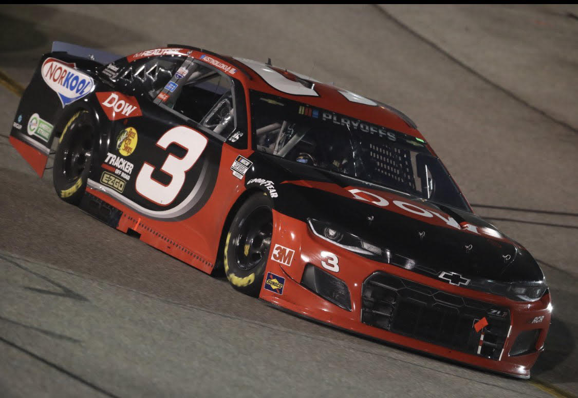Read more about the article Austin Dillon rocks at Richmond, becomes Playoff hot