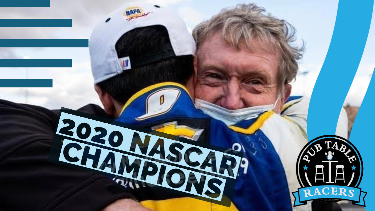Read more about the article The 2020 NASCAR Champions (Ep. 37)