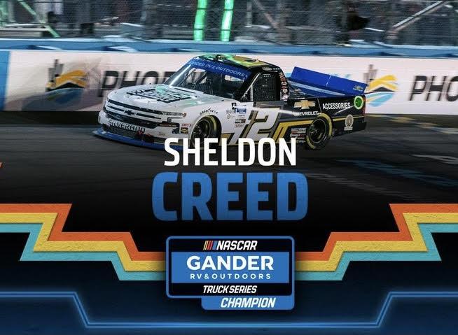 Read more about the article Creed does deed for Truck championship