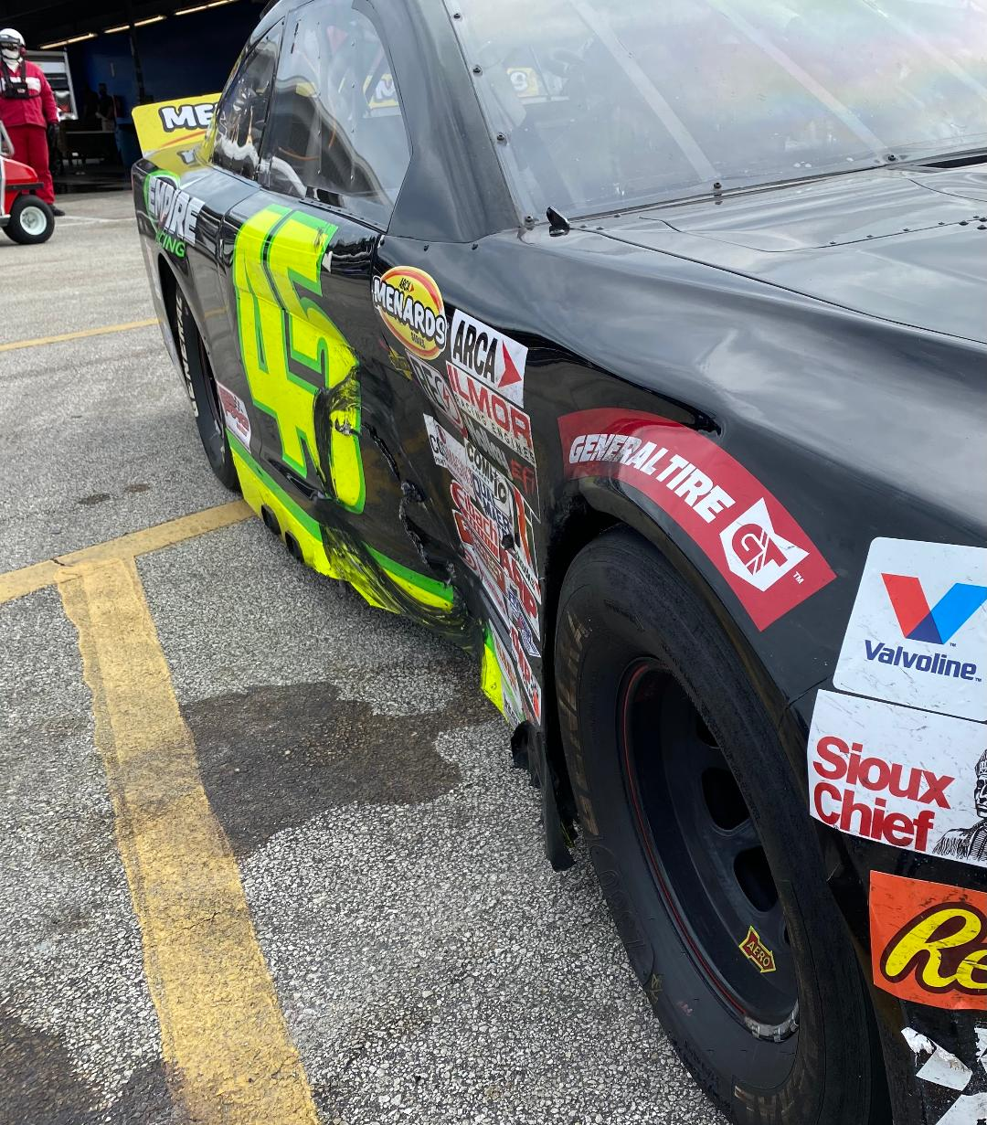 Read more about the article Rich Bickle finishes 15th in ARCA Daytona race