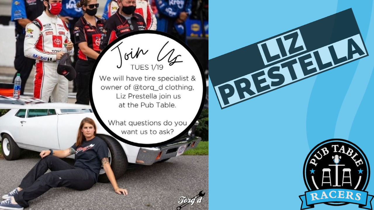 Read more about the article NASCAR Tire Specialist, Mechanic and Tire Changer Elizabeth Prestella (Ep. 47)
